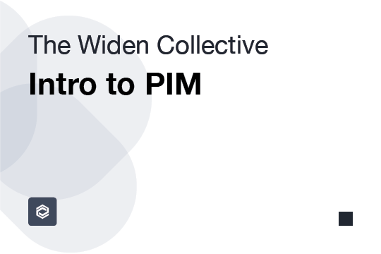 Intro to PIM