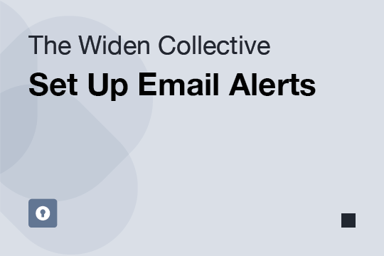 Set Up Email Alerts