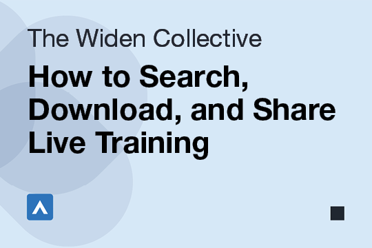 How to Search, Download, and Share Live Training