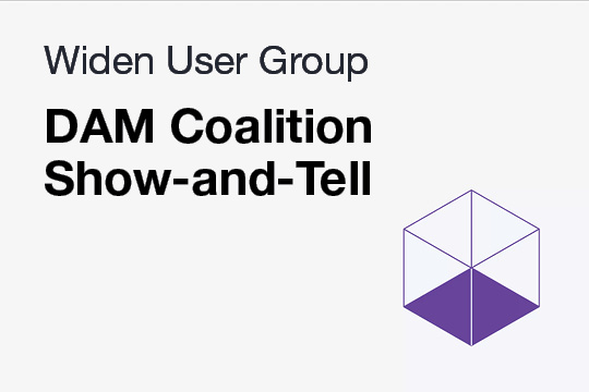 WUG: DAM Coalition Show-and-Tell