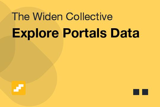 Explore Portals Data