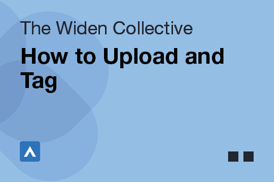 How to Upload and Tag