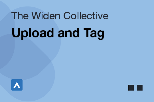 Upload and Tag