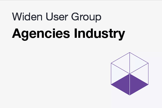 WUG: Agencies Industry Discussion