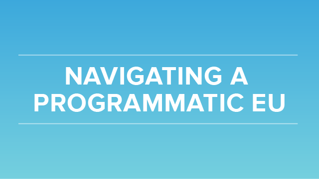 6 Key Insights to Navigating a Programmatic EU