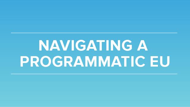 6 Key Insights to Navigating a Programmatic EU