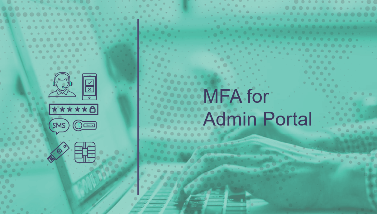 MFA for Admin Portal Login