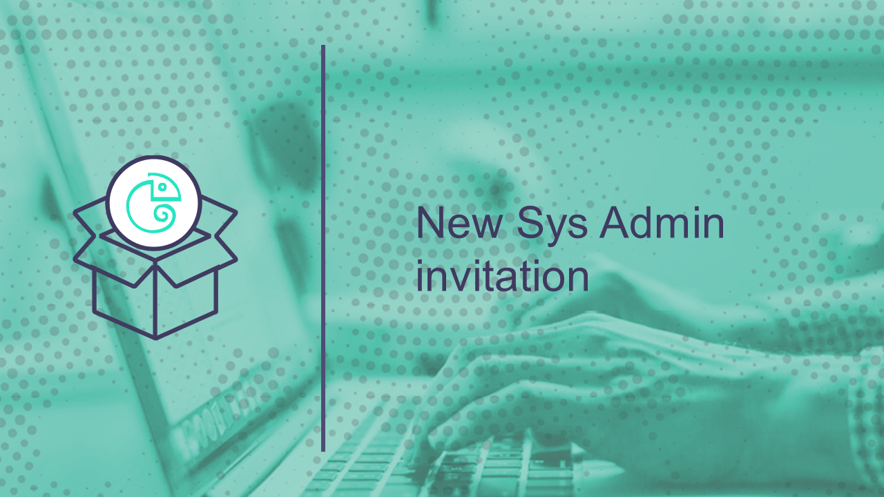 New System Admin User Invited