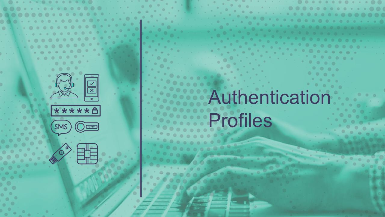 Authentication Profiles