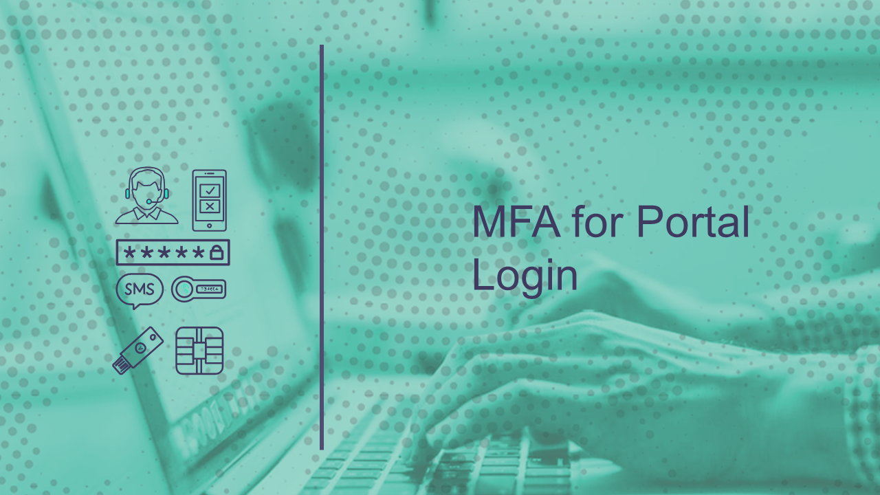 MFA for Portal Login