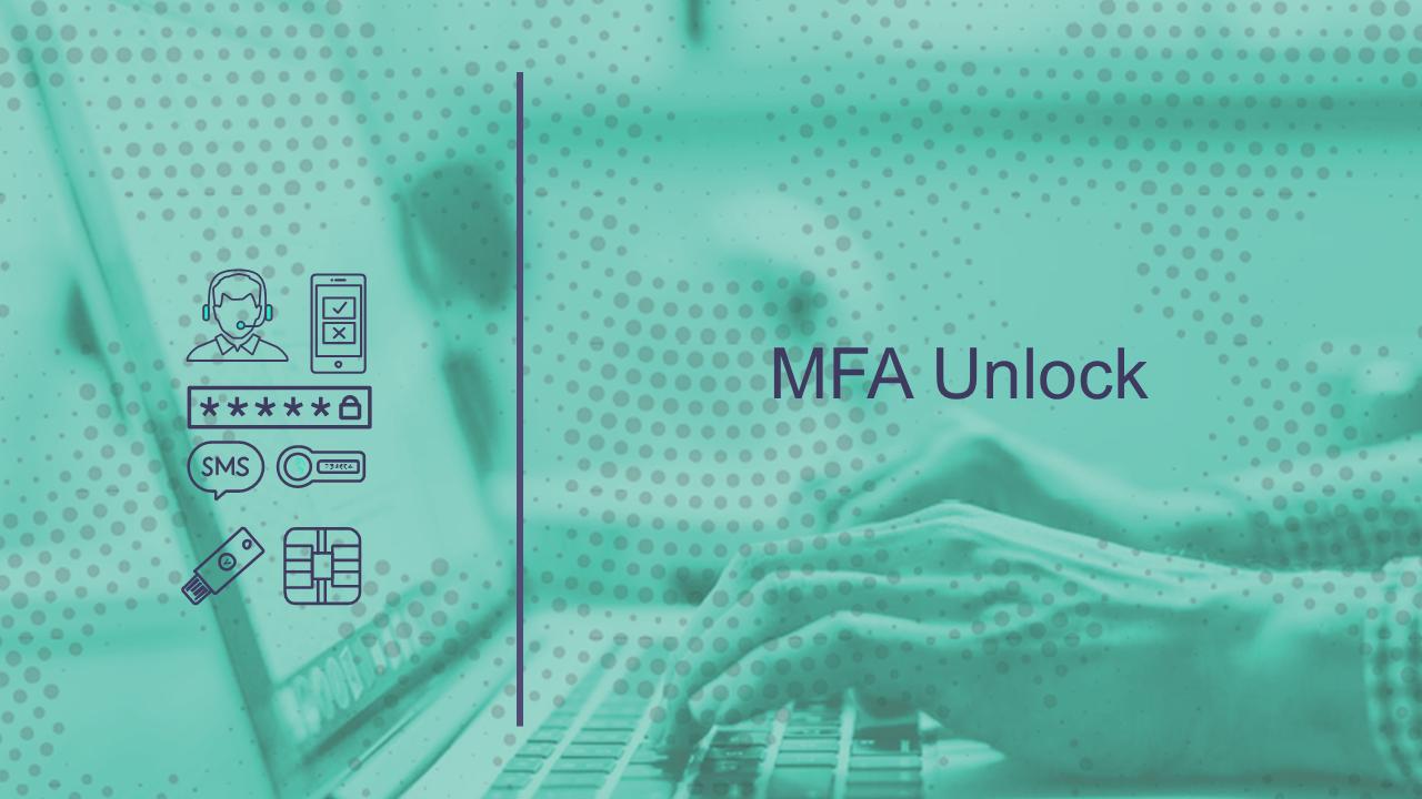 MFA Unlock