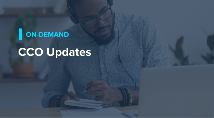 CCO Updates