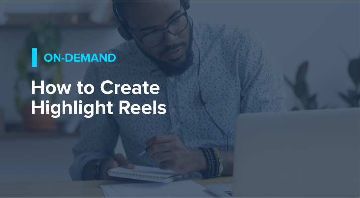 How to Create Highlight Reels