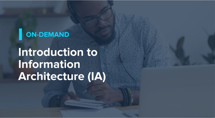 Introduction to Information Architecture (IA)