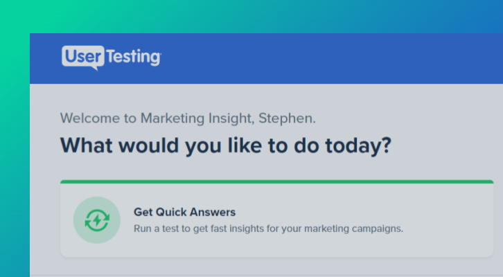 Getting Started with Marketing Insight