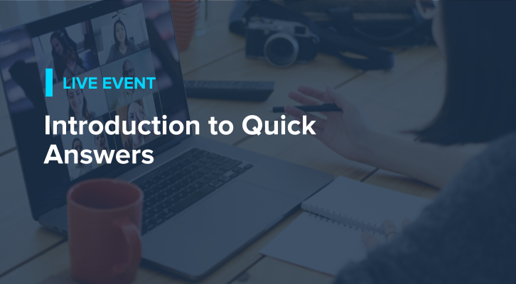 Introduction to Quick Answers