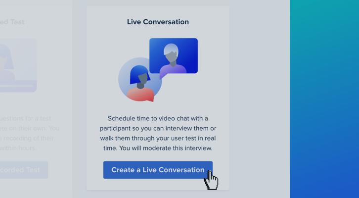 Using Live Conversation