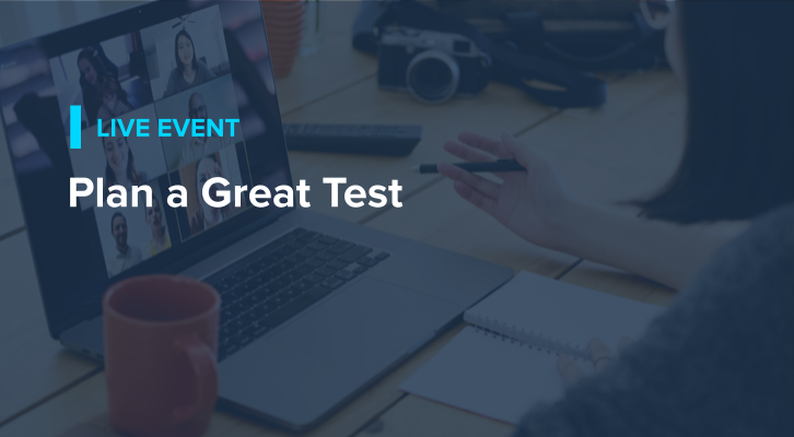 Plan a Great Test
