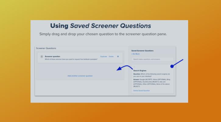 How to Use Saved Screeners