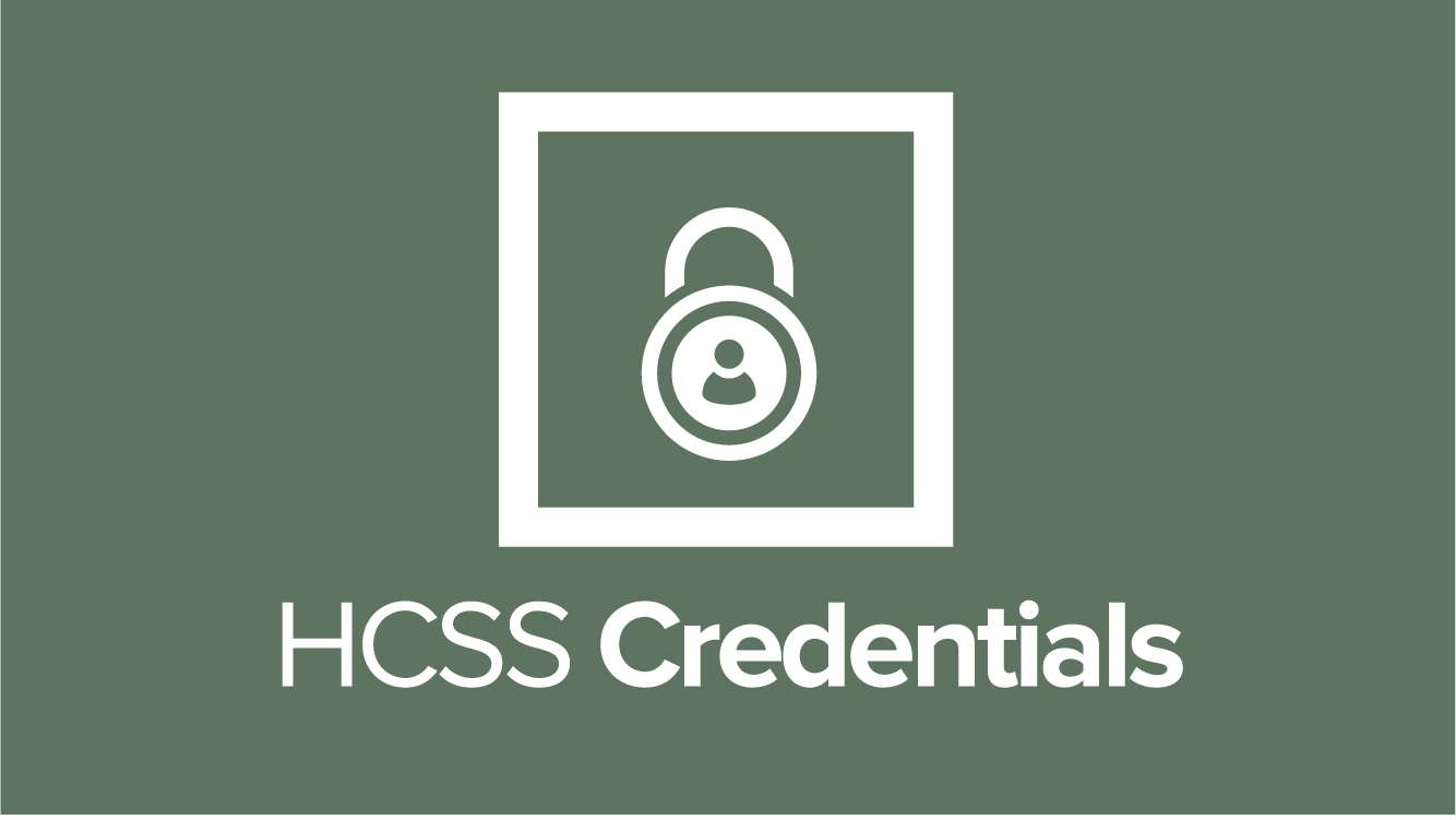 HCSS Credentials