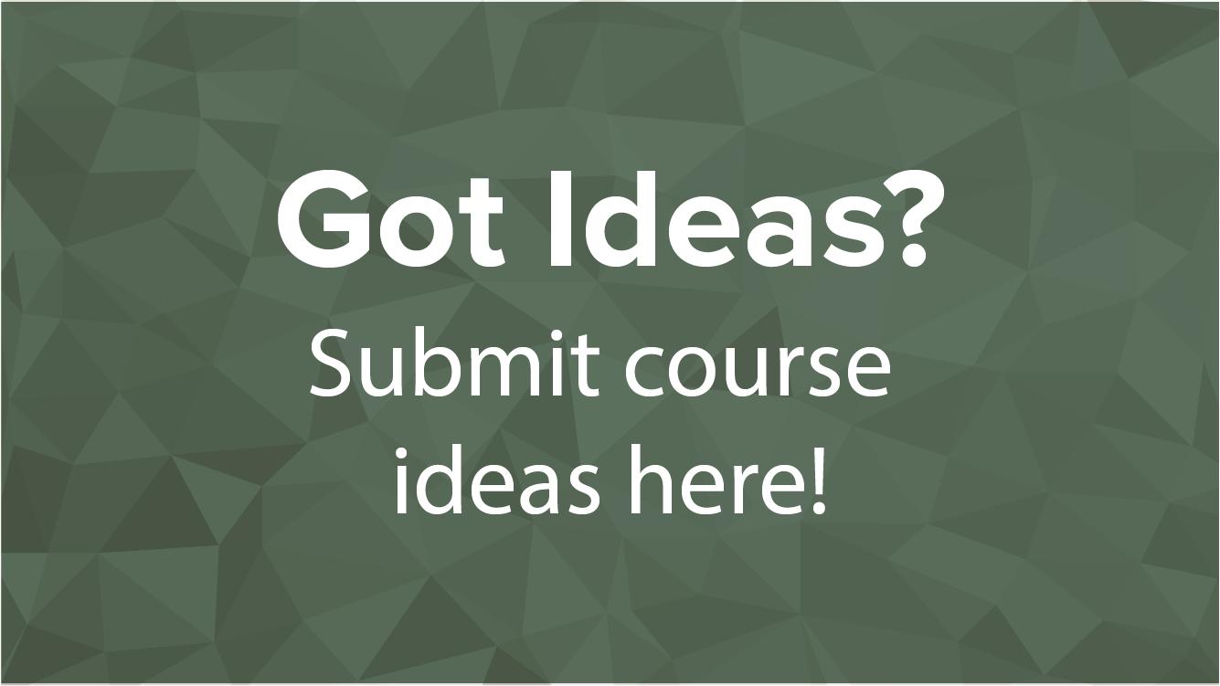 Credentials Course Ideas
