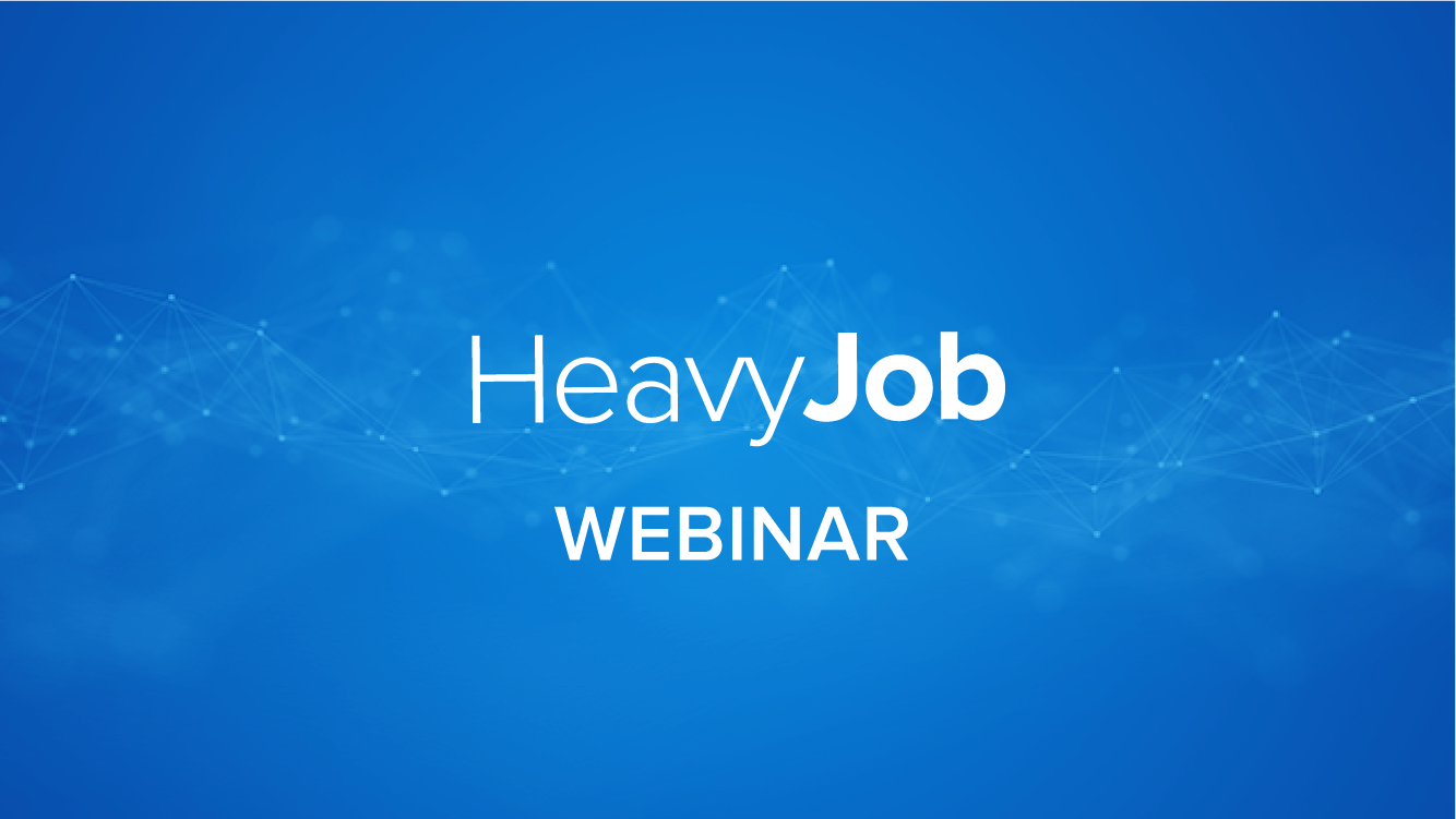 Production Planner Overview for HeavyJob Mobile