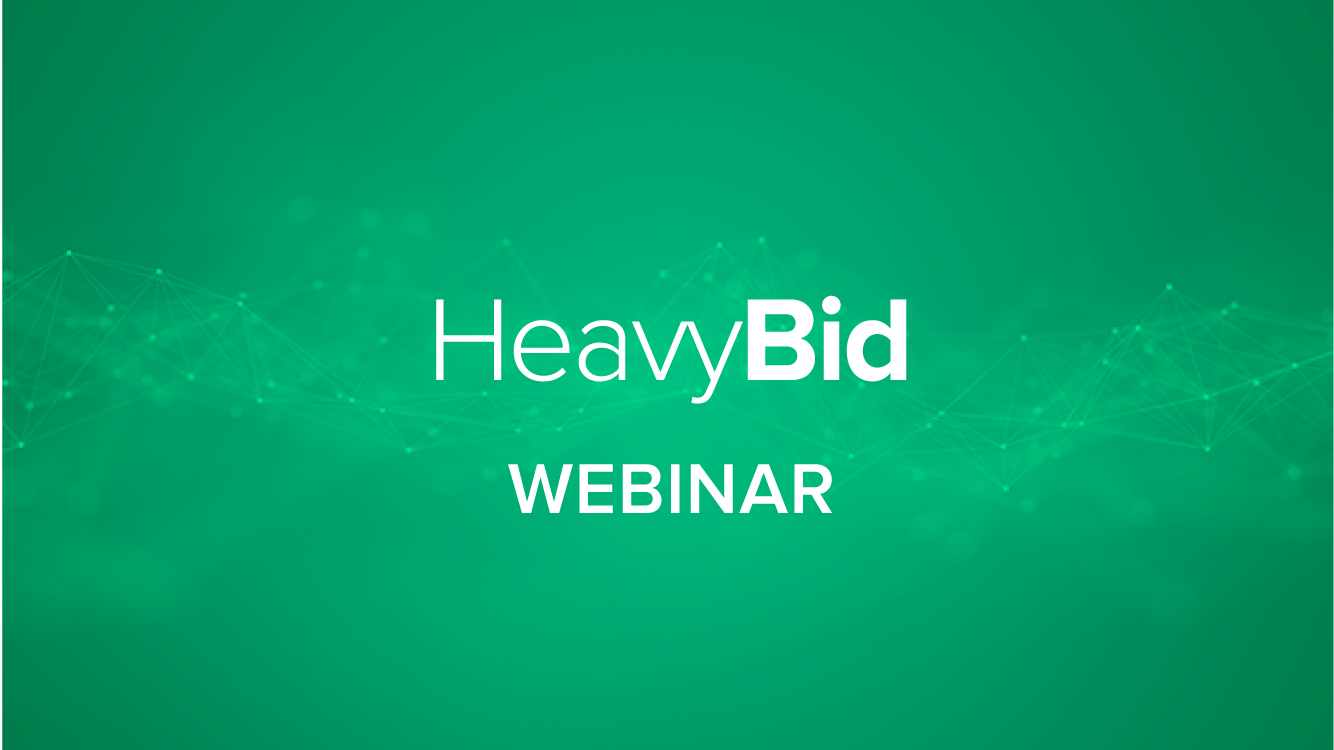 How to Set Up, View, and Use the New Subtotals in HeavyBid 2016