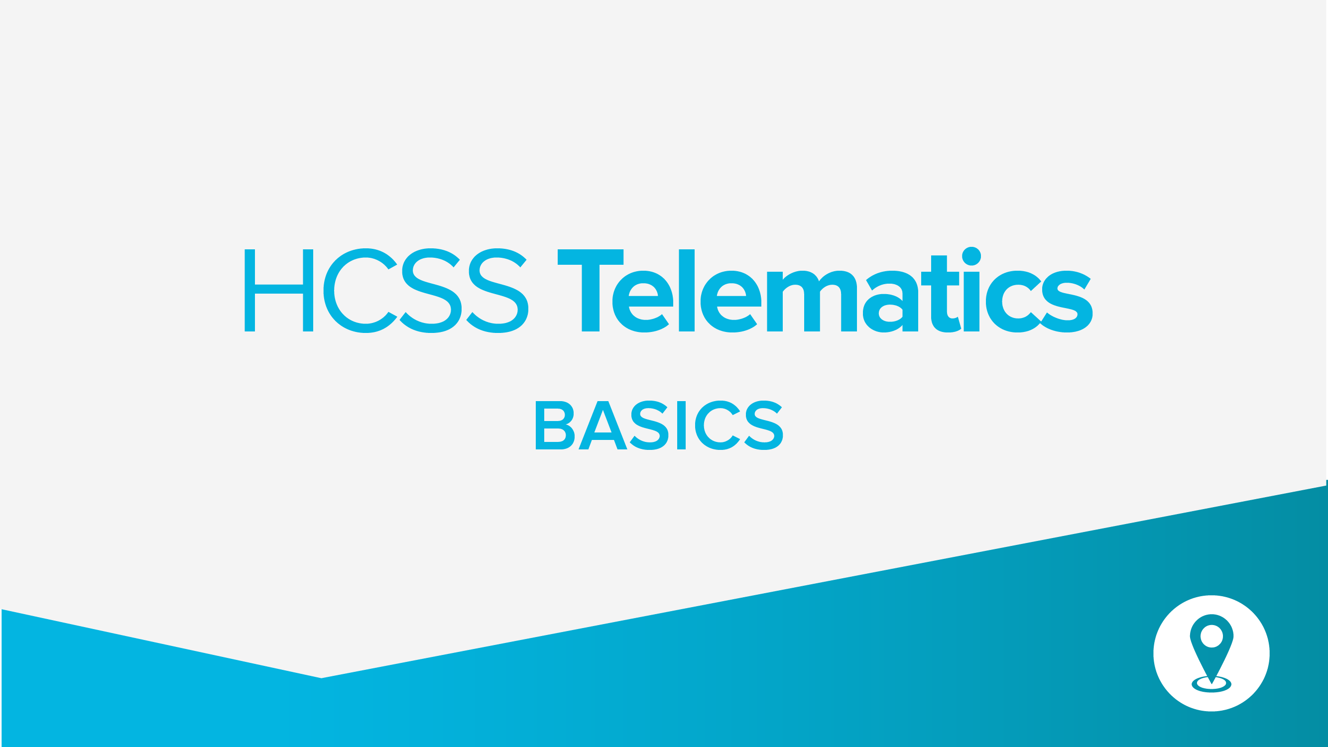 Introduction to Telematics and Credentials