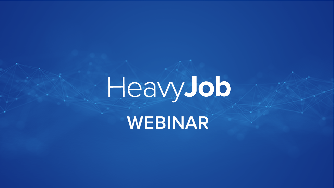 Comprehensive Overview - Exporting from HeavyBid to HeavyJob