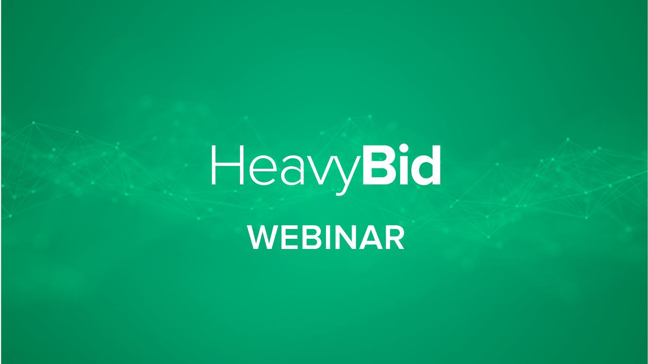 What's New - HeavyBid 2017.1