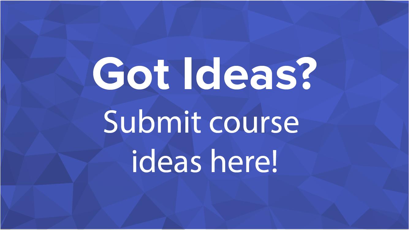 HCSS Plans Course Ideas