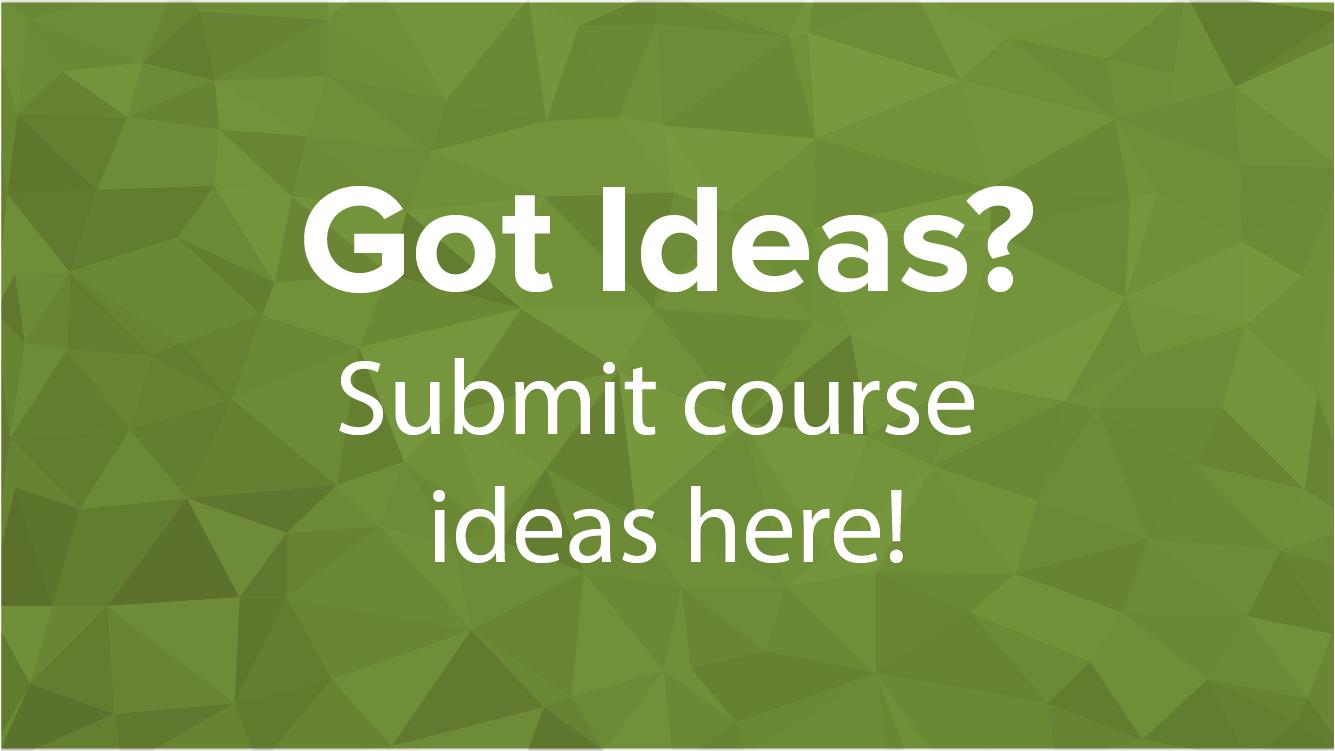 eLogs Course Ideas