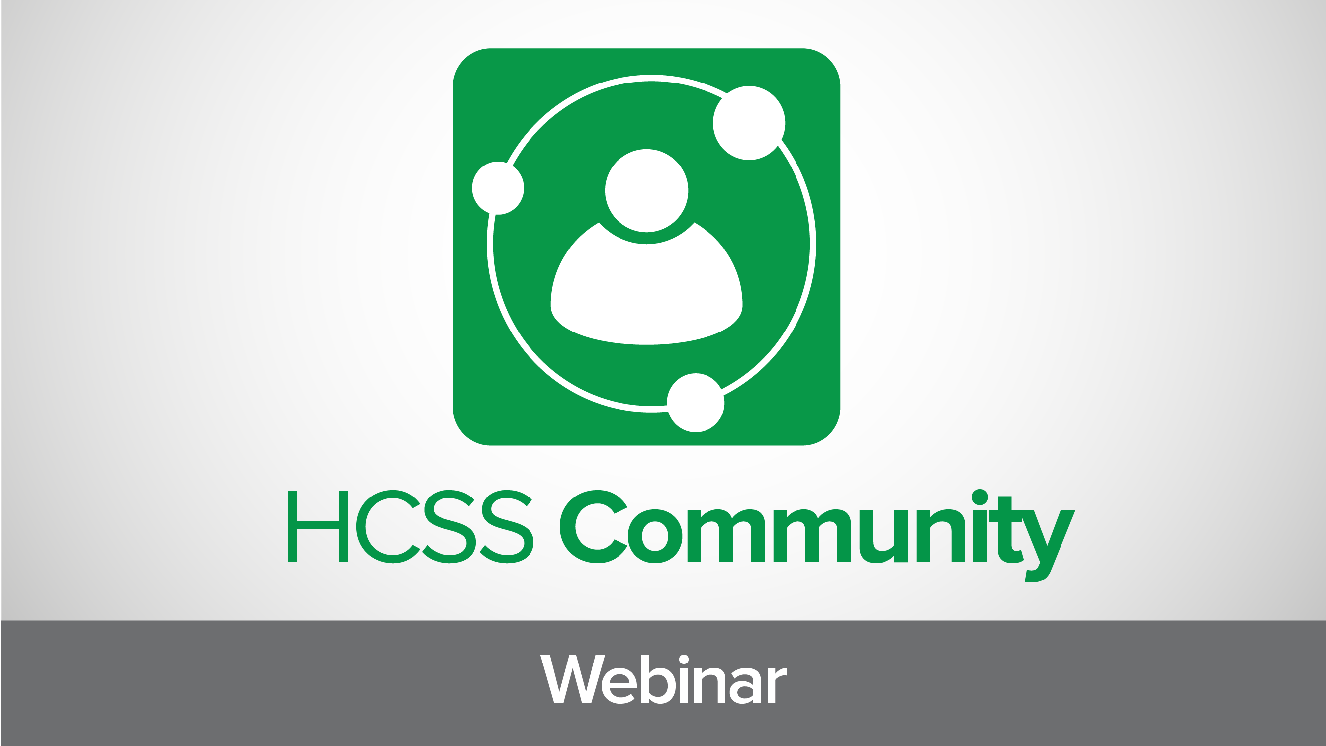 Introducing the HCSS Customer Community: A Collaborative Discussion Board