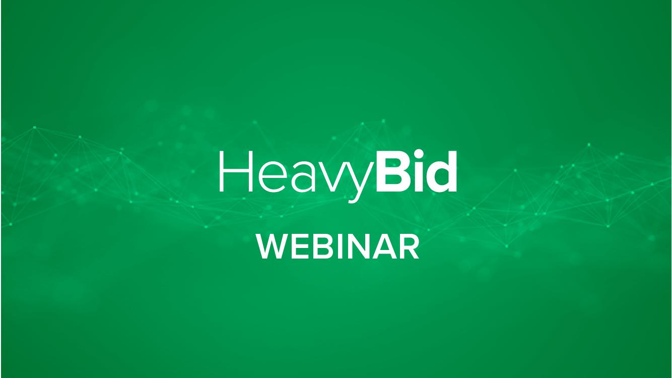 What's New - HeavyBid 2018.1