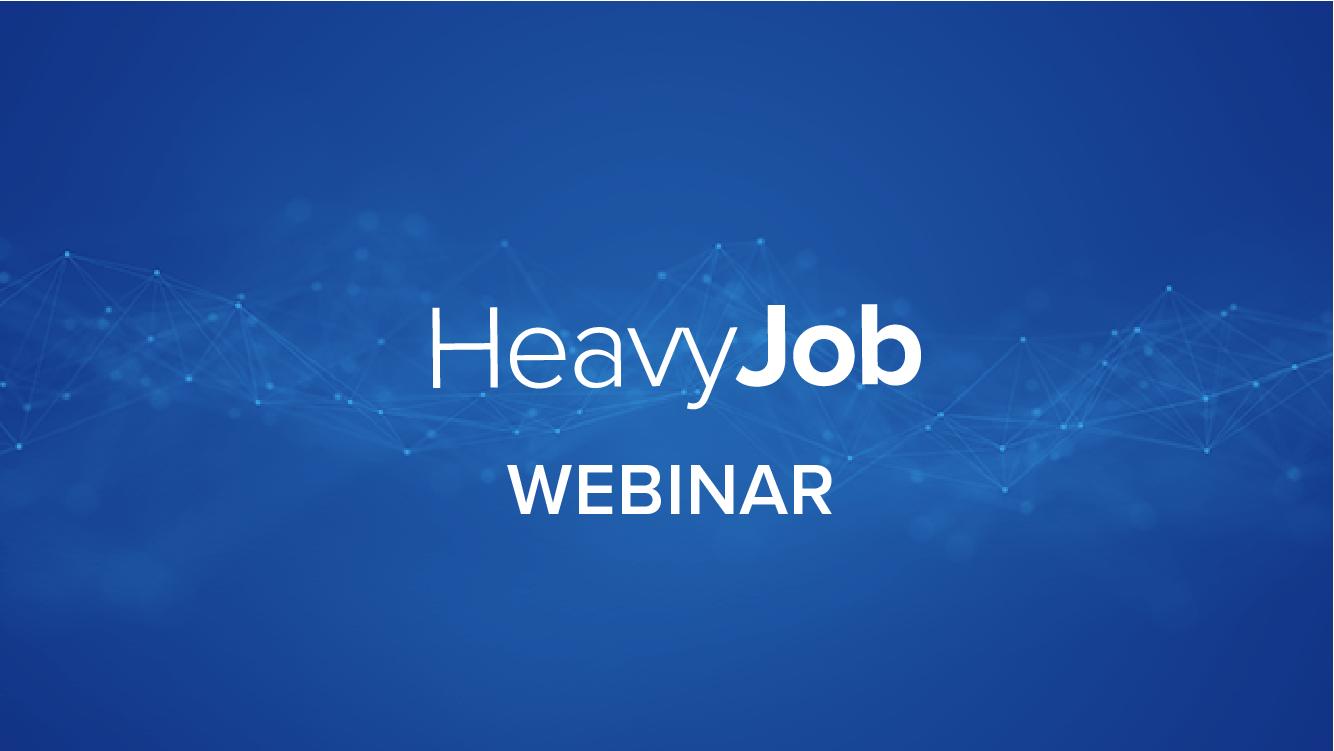 Managing Billing using HeavyJob Pay Estimate