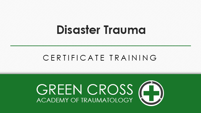 Disaster Trauma (Field Traumatologist)