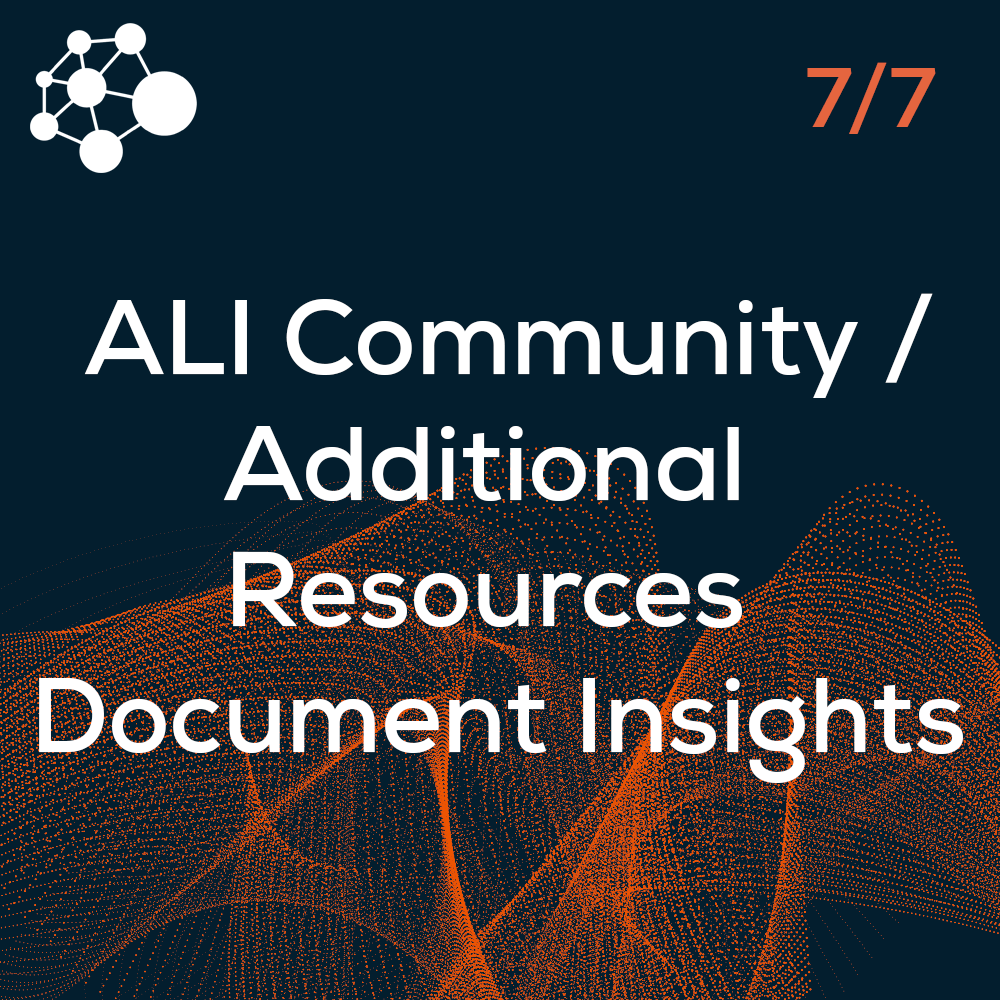 Additional Resources Document Insights