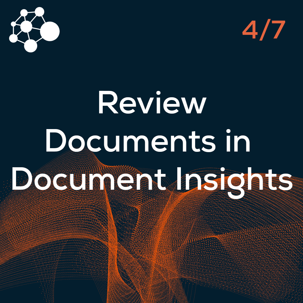 Review Documents in Document Insights