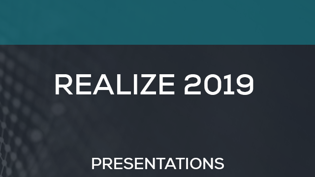 REALIZE 2019