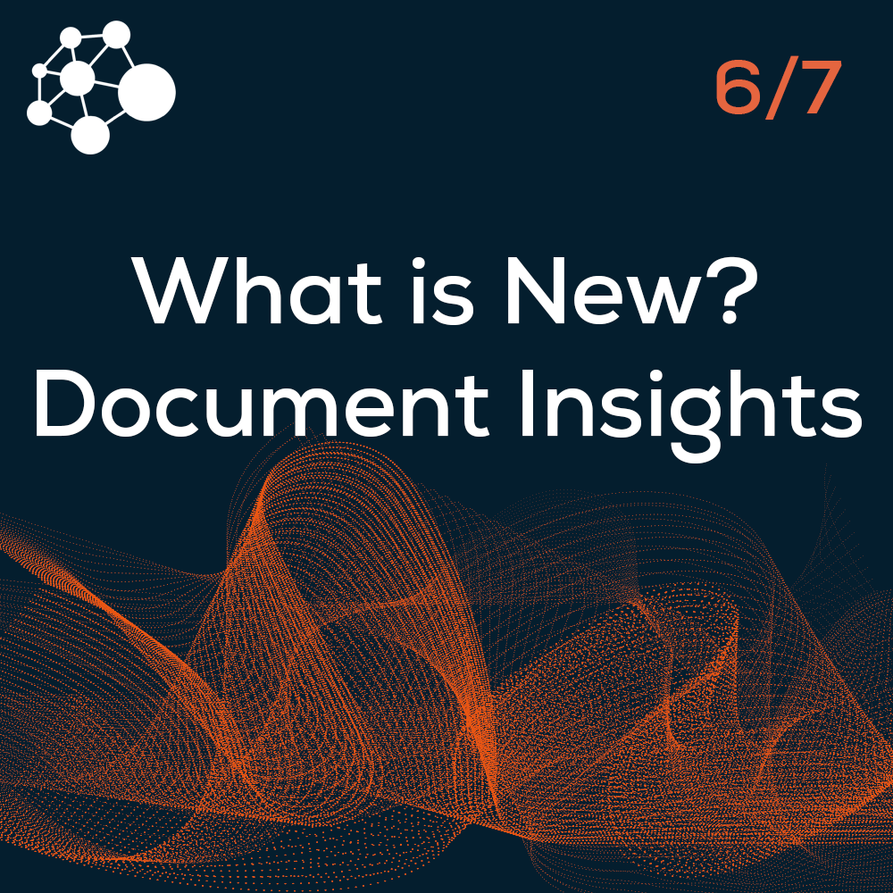 What is New? Document Insights