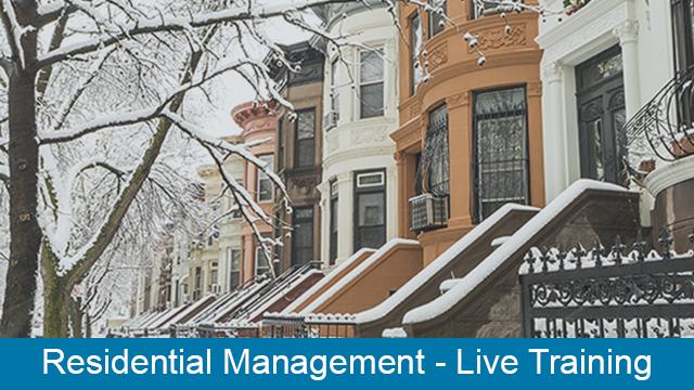 MRI Residential Management - Live Training Series