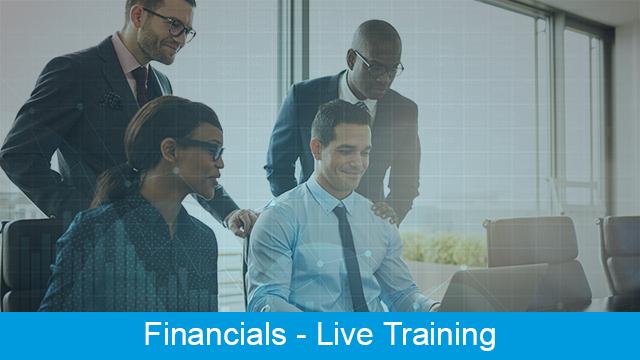 MRI Financials - Live Training Series