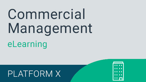 Commercial Management -Commercial Version X eLearning Suite