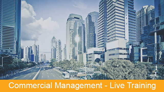 MRI Commercial Management - Live Training Series