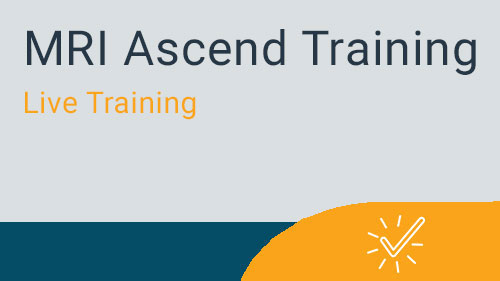 MRI Ascend 2019  Pre and Post Conference Training Sessions