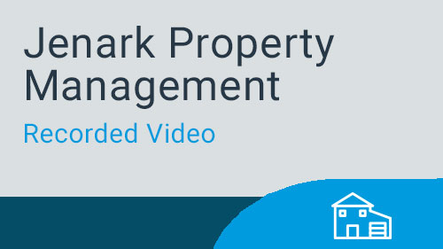 Jenark Property Management – GL Financial Statements Video