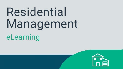 Residential Management - Working with Residents eLearning