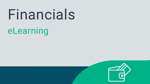 Financials - General Ledger Inquiry and Reporting eLearning v4.5