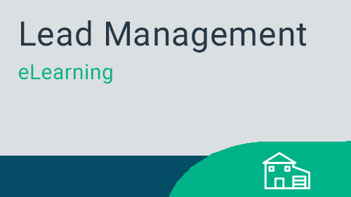 Lead Management - Working with Prospects eLearning