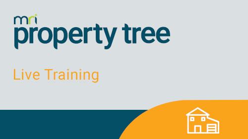 Managing Commercial Tenancies in Property Tree (Online Classroom)